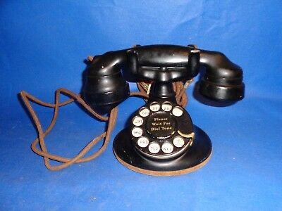 Vintage 1930's Western Electric Rotary Dial Model 202 Telephone