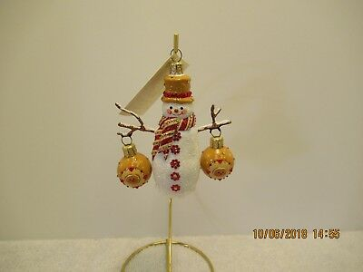 """Patricia Breen~""""frosty & Festive""""~Ginberbread~2008~Awesome Design~W/tag!"""