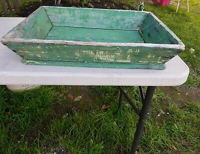 Antique 19Th Century Apple Tray Old Paint Early Sorter Center Piece