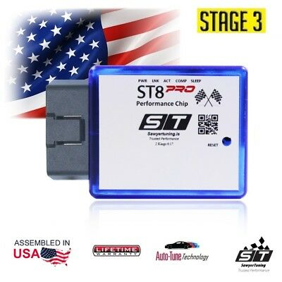 For Toyota Stage 3 Performance Chip ECU Tuner Fuel Race Engine Speed Plug Play
