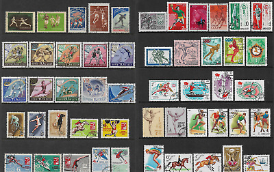 RUSSIA mixed collection No.77, 1956-1991 Sport incl Olympics, CTO