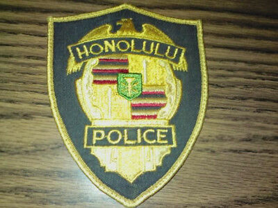 Honolulu Hawaii Police Department Patches --Two