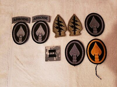 LOT of military patches US ARMY