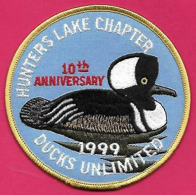 Pa Pennsylvania Fish Game Commission NEW 1999 Hunters Lake Ducks Unlimited Patch