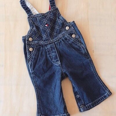 Tommy Hilfiger Baby Overalls Sz 3-6 Months