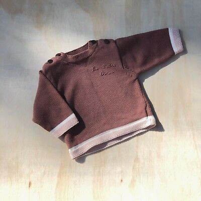 Baby Girl Knit Sz 6-12 Months Made In France - Like Purebaby Like Yoli And Otis