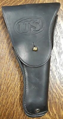 Authentic Original Boyt 44 US Army WWII Leather Holster WW2 Colt 1911 .45
