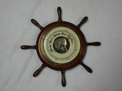 Vintage Nautical Style Barometer Made in Western Germany