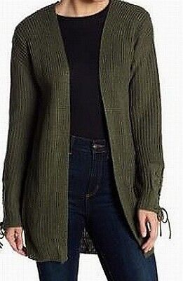 7cae6d26b9caf Ten Sixty Sherman NEW Olive Green Womens Size Small S Cardigan Sweater  48  200