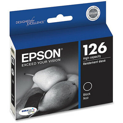 Epson 126 Black High Yield T126120 Ink Cartridge OEM
