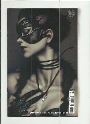 """Catwoman #4 (2018) Stanley """"Artgerm"""" Lau Variant Cover (VF/NM) condition"""