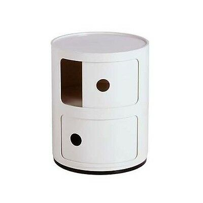 Container Componibili, Kartell, 2-Er Weiss, Neu + Ovp!