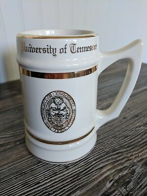 University of Tennessee 20oz Mug Vintage WC Bunting Co Collectible Pottery