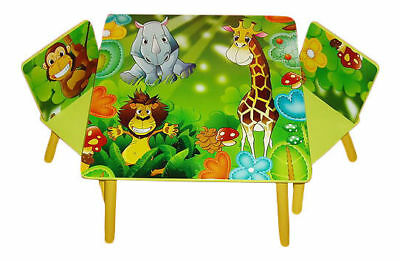 Kids Childrens Table And 2 Chairs Set For Boys Or Girls * Choose Your Design *