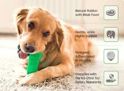 Toothbrush For Dogs - Bristly Brushing Stick World's Most Effective Toothbrush