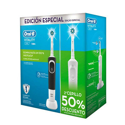 Duo Cepillo Dental Oral-B Vitality 100 Cross Action