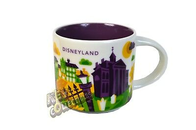 Disney Parks Disneyland Haunted Mansion You Are Here Starbucks Mug 2018 RETIRED