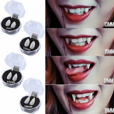 Halloween Cosplay Dentures Vampire Teeth Devil Fangs Costume Ghost Props Hot IW