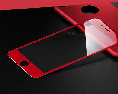 3D Curved Edge Full Cover Screen Protector For iPhone 7 6S 8 Tempered Glass