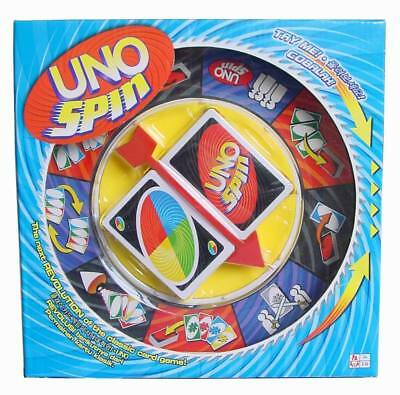 Kids Children Classic Spin UNO Board Cards Family Playing Educational Game Toy