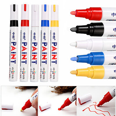 DIY Classy Car Tyre Tire Tread Rubber Permanent Paint Marker Pen Album Graffiti