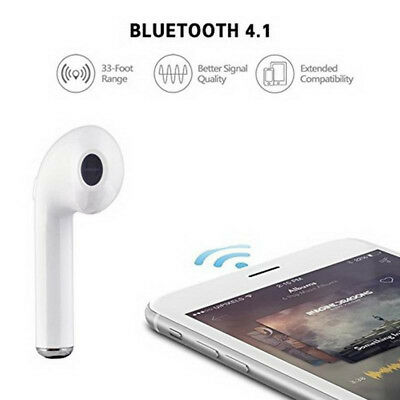 Portable Wireless Bluetooth Earphone Headphones Music For Mobile Phone Tablet