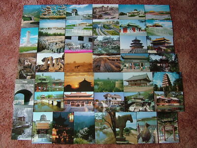 42 Unused Postcards of CHINA.  Mint condition.