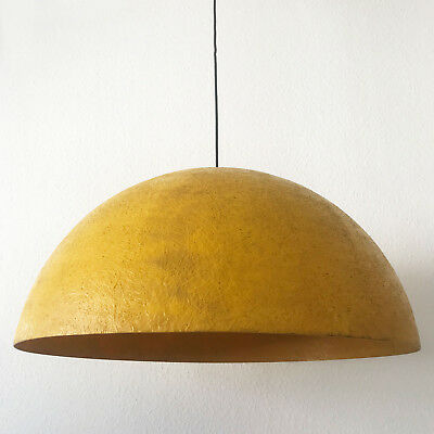 Extremely Rare MID CENTURY MODERN Fiberglass PENDANT LAMP 'DOME', 1960s, Germany