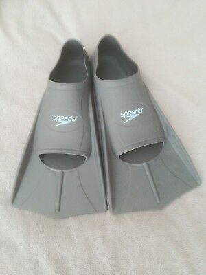 SPEEDO BIOFUSE Resistance Training Fins Swimming Aid Flippers UK Size 7/8