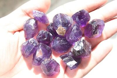 50g Natural Amethyst Garvels Purple Rough Loose Gemstone