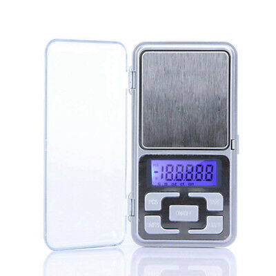 Pocket Digital Scales Jewellery Gold Weighing Mini LCD Electronic 0.1g 500g UK