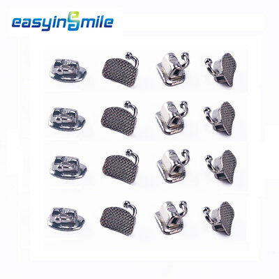 40pc EASYINSMILE Dental Buccal Tube Orthodontic Bracket Bondable Non-convertible