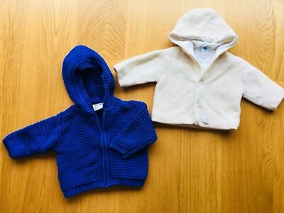 baby Unisex hooded Coat 3-6 Months