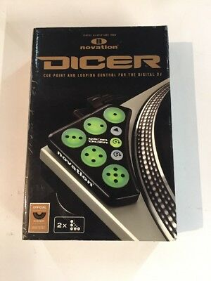 Novation Dicer DJ Cue Point & Looping Control For Serato