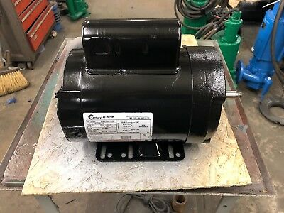 Century 33L127/b586 1Hp Milk Pump Farm Duty Motor 208-230/60/1 Rpm:3450/1-Speed