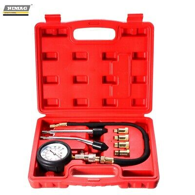 Tester Test compression petrol engines + fittings manometer 0-20 Bar