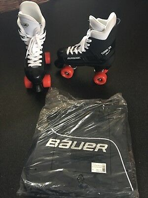 bauer roller skates size 40 but would say more like a 38