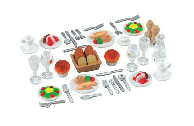 Sylvanian Families Furniture & Accessories 4717 Dinner For Two Set /Age 3+