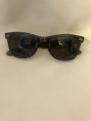 49f4bfdea6 IZOD SUNGLASSES BROWN Tortoise Shell Frames Yellow Izod Logos ...