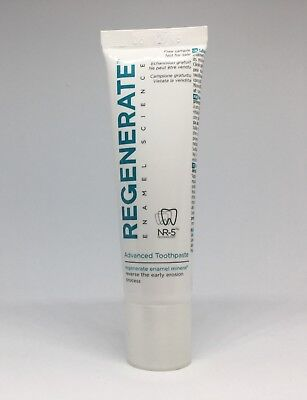 NEW (sealed) Regenerate Enamel Science Advanced Toothpaste, 14ml travel size