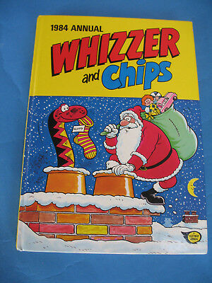 Whizzer And Chips   Annual  1984