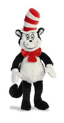 """Aurora Dr Seuss Cat In The Hat 19"""" Super Soft Toy Plush Brand New Gift"""