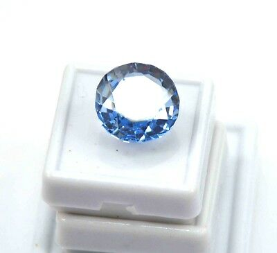 GGL Certified 20.00 Ct Oval Natural Blue Aquamarine Transparent Untreated Gem