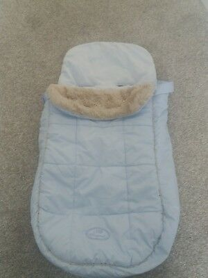 Baby Blue Mayoral Cozy Toes footmuff