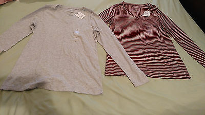 NWT Sonoma Women's Long Sleeve Shirts - 2 Both NEW Size Small