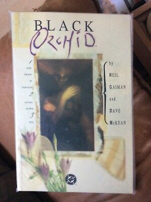 Black Orchid Neil Gaiman- Dave Mckean Ex condition