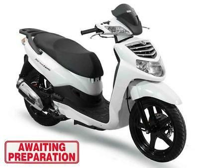 Sym HD 200 - White (7619 miles)