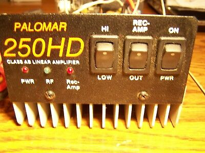 POLAMAR 250 HD 10 and 11 METER  mobile AM / SSB amplifier / rcvr amp