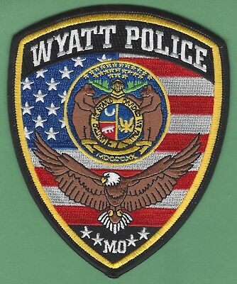 Wyatt Missouri Police Patch