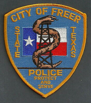 Freer Texas Police Patch